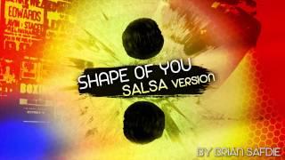 """Shape Of You"" (Salsa Version By Brian Safdie) - salsa music instrumental fast"