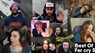 Best Of Far Cry 5 avec Zerator Gius MisterMV Sir_Thomas AiekillU Heyar et Aayley
