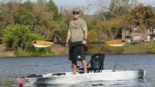 new 2016 ascend fs128t kayak review   most stable yak