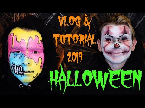 Marcus&Martinus – Vlog and creepy Halloween clown makeup tutorial! thumbnail
