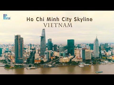 Ho Chi Minh City 2018 - Vietnam | Toàn cảnh TP. Hồ Chí Minh nhìn từ trên cao