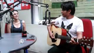 Ali Zafar & Aditi rao hydari sing Tere mere Milan ki ye raina @BIG FM Studio