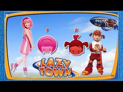 ZIGGY LAZY TOWN CHALLENGE: Stephanie - Trixie ( Two games )