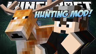 Minecraft  HUNTING MOD (Epic Guns Traps and Deer)  Mod Showcase