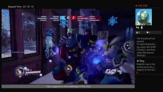 Overwatch  winter wonderland 2018 reaction live stream