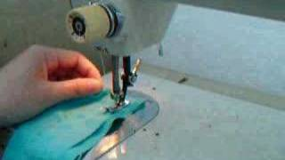 How to sew straight stitch on Kenmore vintage sewing machine