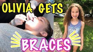 Olivia Gets BRACES!!!