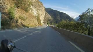 Afdalen op de Alpe d'Huez