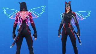 Fortnite *FREE* Neon Wings Back Bling Showcase