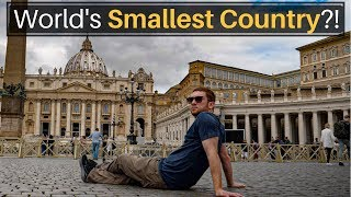 The World's Smallest Country?!