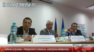 Adrian Ţuţuianu, declaraţie de presă la finalul şedinţei CJD din 26 septembrie 2016