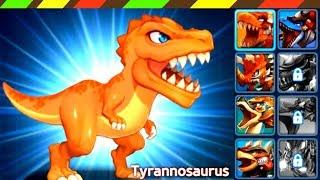 Dino Battle: Tyrannosaurus ,Triceratops & Ankylosaurus - Brachiosaurus - Mosasaurus | DCTE VN