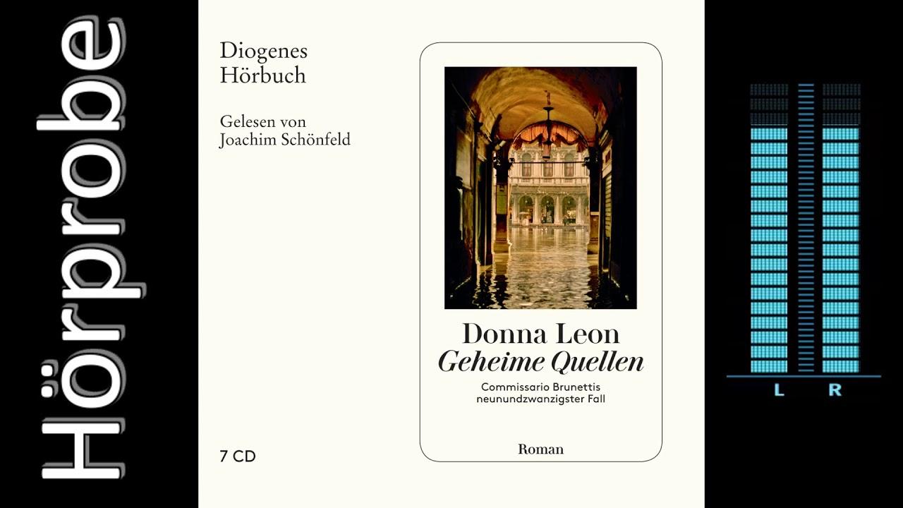 Donna Leon: Geheime Quellen (Hörprobe)