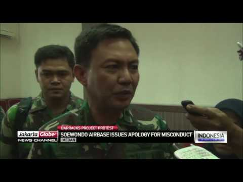 Soewondo Airbase Issues Apology For Personnel Misconduct