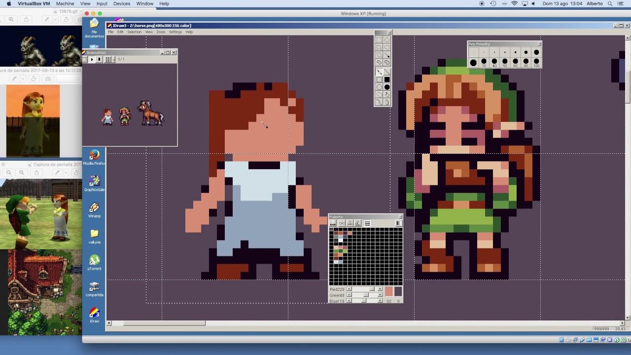 Pixel Art Timelapse The Legend Of Zelda Ocarina Of Time