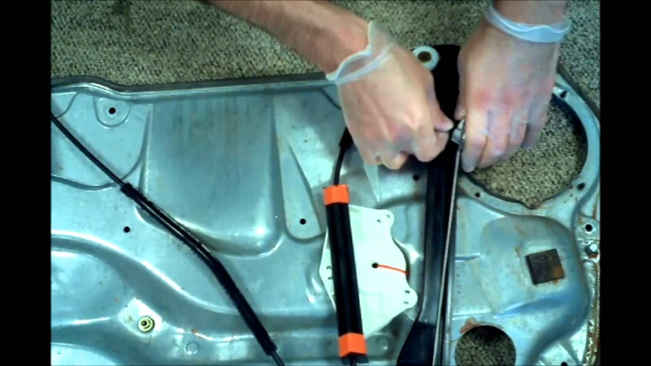 Volkswagen Golf Jetta MK4 Bora Window regulator reparation - YouTube