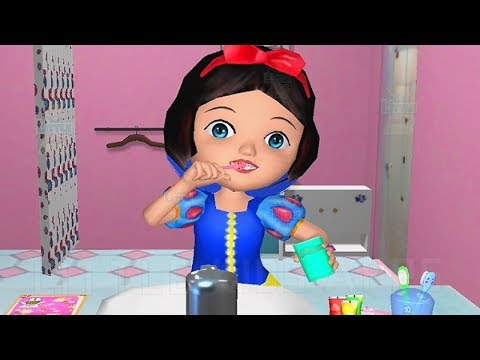 Fun Girl Care Games - Feed Dance & Learn Colors Ava the 3D Doll Game