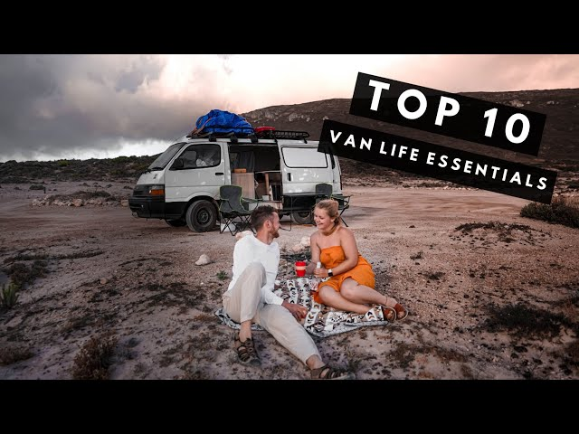 AUSTRALIA VAN LIFE ESSENTIALS | 10 Items You Can NOT Live Without