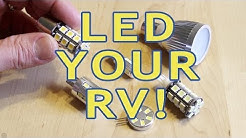 Converting RV Lights to LEDs — PART 1 — Incandescent & Halogen