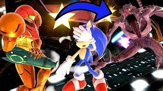 Did Sonic Get Killed By Ridley?! - Super Smash Bros Ultimate Movie
