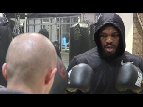 UFC Champ Jon Jones Prepares To Fight