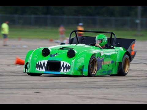 Jeff Kiesel SCCA 2016 Solo Nationals Emod Turbo Rotary Sprite