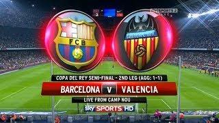 Fc barcelona vs valencia cf 2-3 all ...