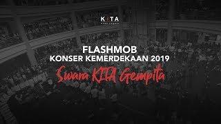 Download lagu VIRAL! FLASHMOB KEMERDEKAAN : Swara KITA Gempita 2019