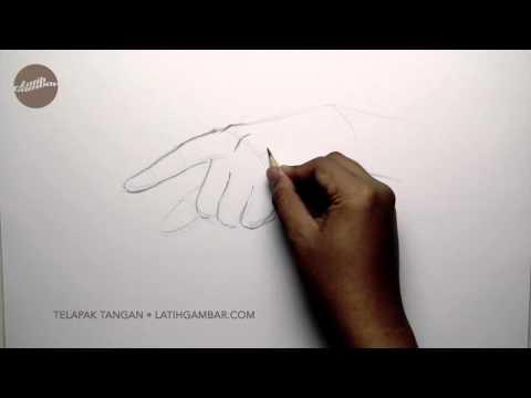 Latih Gambar Tangan Menunjuk
