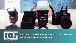 Огляд | спалах для дзеркалок Nikon W/ я-TTL, ручний, С1 & С2 | с Altura фотографія®