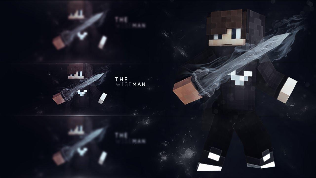 Minecraft | Banner Speed Art: My New Skin + GRAPHICS SHOP OPEN ...