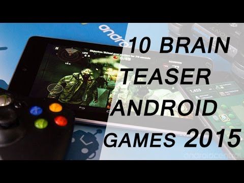 Top 10 Brain Teaser Games Of Android 2015