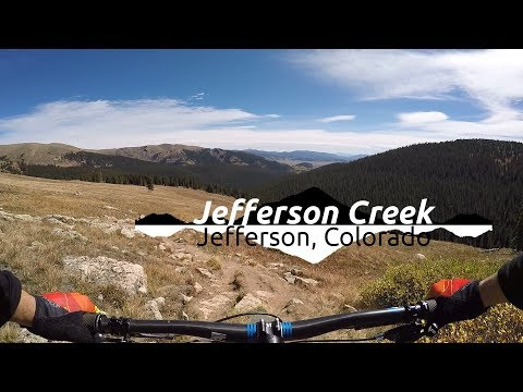 Best Downhill In Colorado :||: Mountain Biking Jefferson Creek