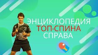 Энциклопедия топ-спина справа!!!