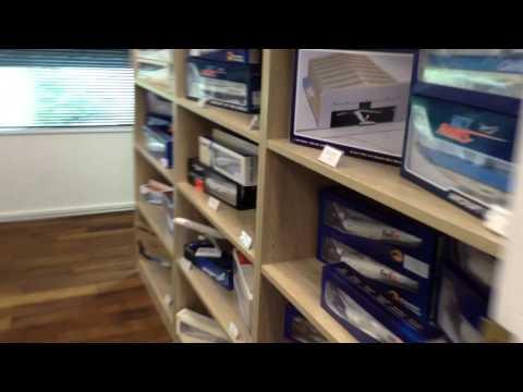 Aircraft Model Store NZ Tour Through Auckland