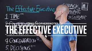 PNTV: The Effective Executive by Peter F. Drucker