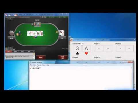 Logiciel Triche Poker Winamax, Pokerstars et toutes les rooms française