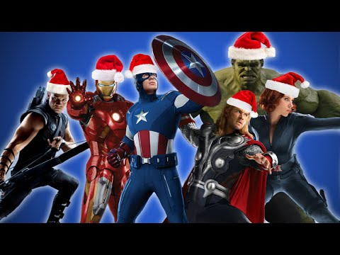 The Avengers Sing Christmas Carols