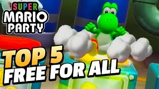 Top 5 Most Fun-Looking Free-For-All Minigames in Super Mario Party