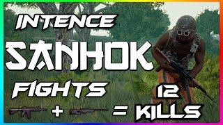 Solo Vs 2 Squads Most Intense Sanhok Fight Ever With Unpredictable Ending