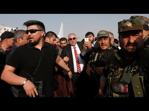 Exiled Afghan vice president escapes airport blast