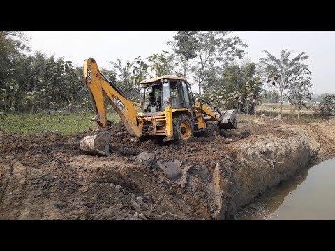 JCB Dozer Working on Mud - JCB Digger Video 5