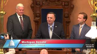 Sen. Horn welcomes local pastor for Senate invocation
