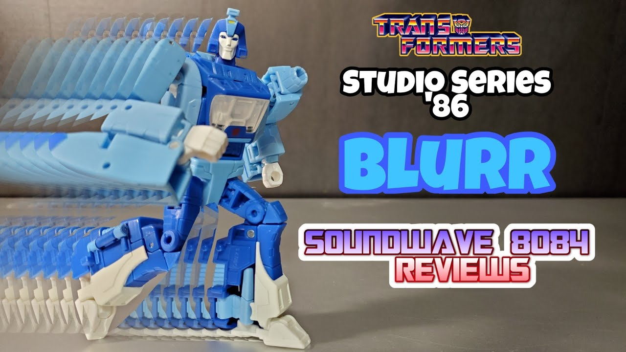 Transformers Studio Series '86 Blurr Review by Soundwave 8084