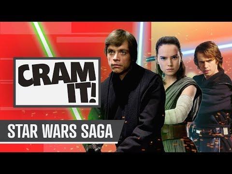 The COMPLETE Star Wars Saga Recap for Rise of Skywalker | CRAM IT