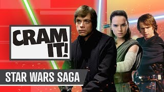 The COMPLETE Star Wars Saga Recap for Rise of Skywalker | CRAM IT