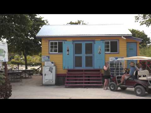Driving North - Ambergris Caye Belize