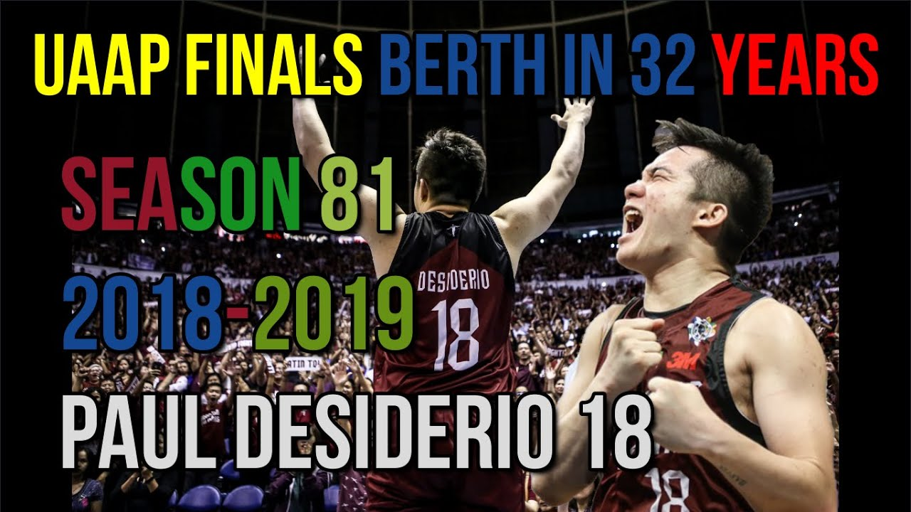 Download PAUL DESIDERIO UP MAROONS | FOREVER IMMORTALIZED| HISTORIC RUN| ROAD TO PBA