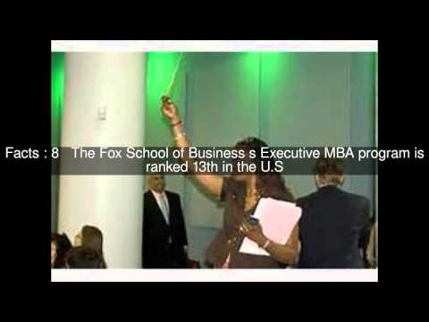Fox School of Business of Temple University Top 14 Facts