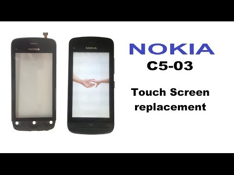 Nokia C5-03 - Touch Screen, LCD replacement.